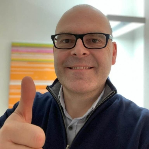Daniel Fallegger supports HopeNow