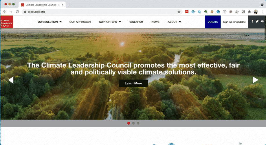 The homepage of clcouncil.org on 2021_04_29 (screenshot)