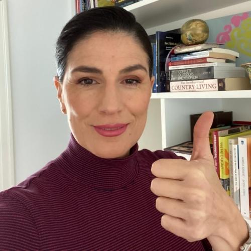 María Fernanda Salvador de Bergen supports HopeNow