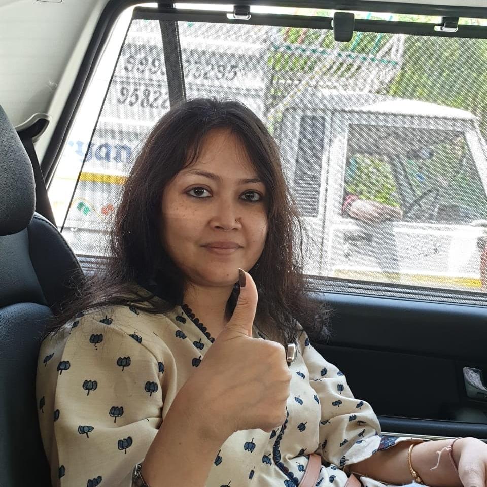 Amrita Guha supports HopeNow