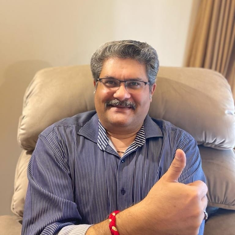 Anik Bhalla supports HopeNow
