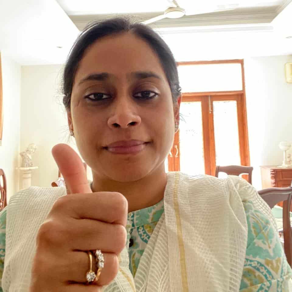 Barkha Kumar supports HopeNow