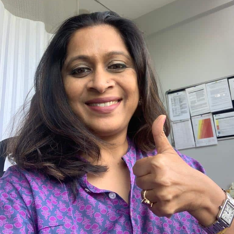 Dr Rachna Kucheria supports HopeNow