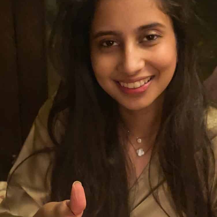Isha Gupta supports HopeNow