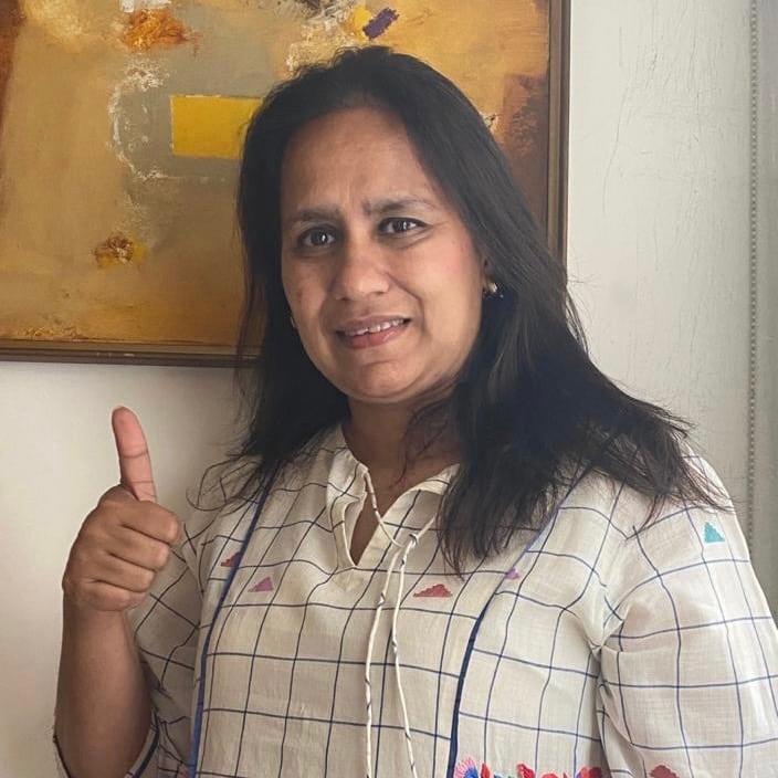 Ruchika Bhardawaj supports HopeNow
