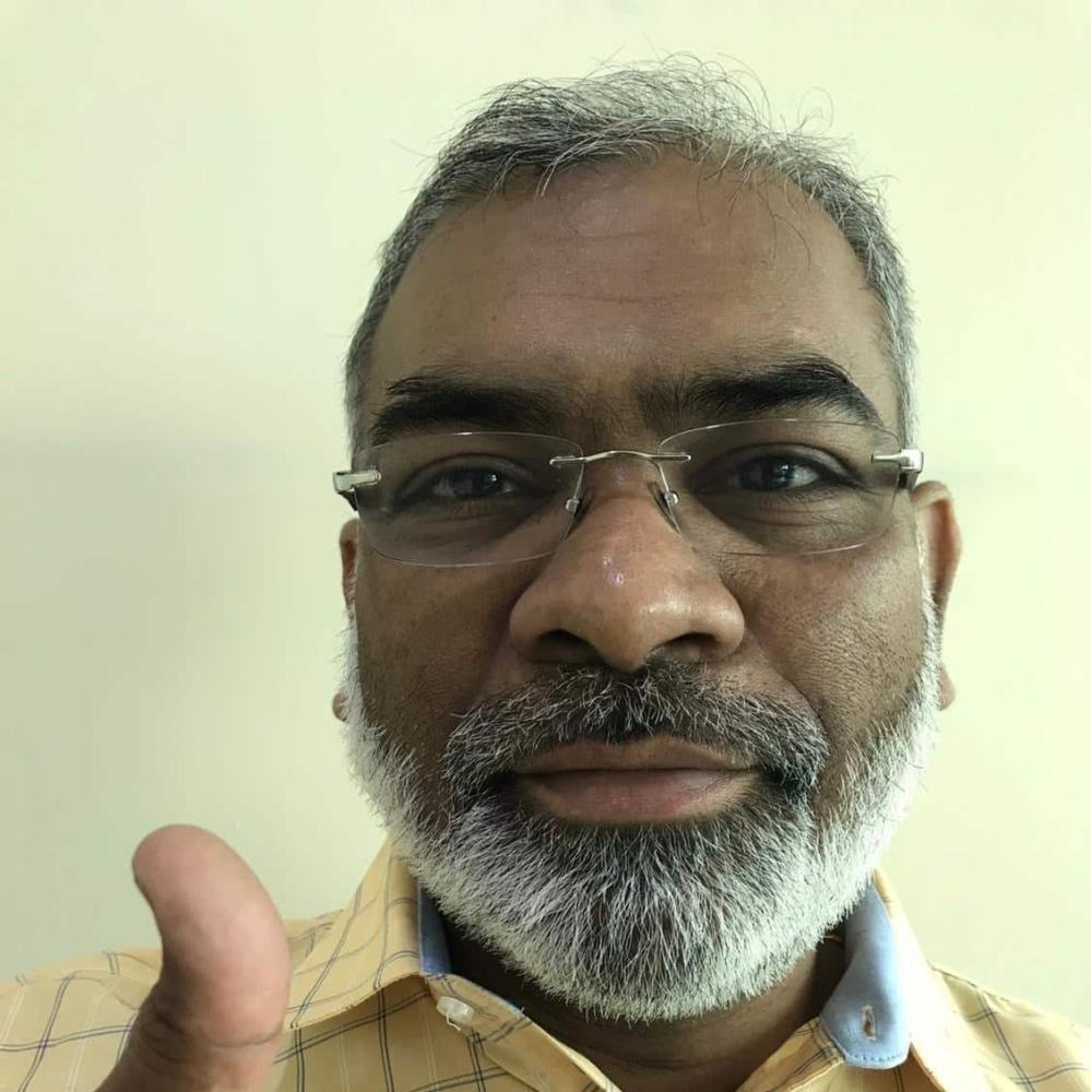 Satyendra Shukla supports HopeNow