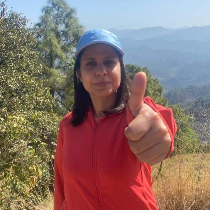 Vineeta Sharma supports HopeNow